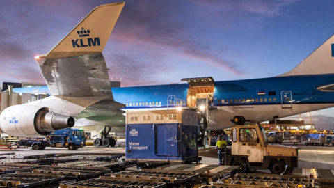 Tracking af ULD AirCargo containere